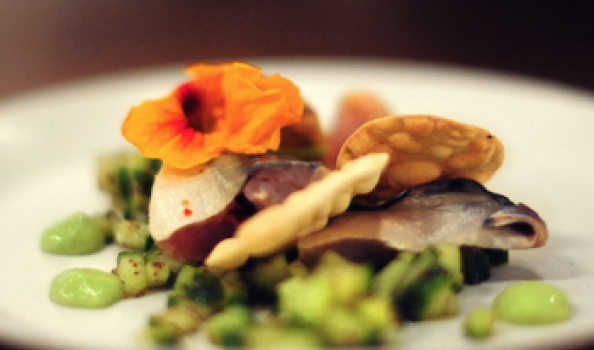 Feed your senses: A second course with the scented chef