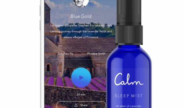 Can listening to this scented story help you sleep…?