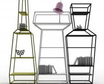 Lust object alert: these 'perfume' bookshelves just shot to the top of our 'If we won the Lottery' splurge-list